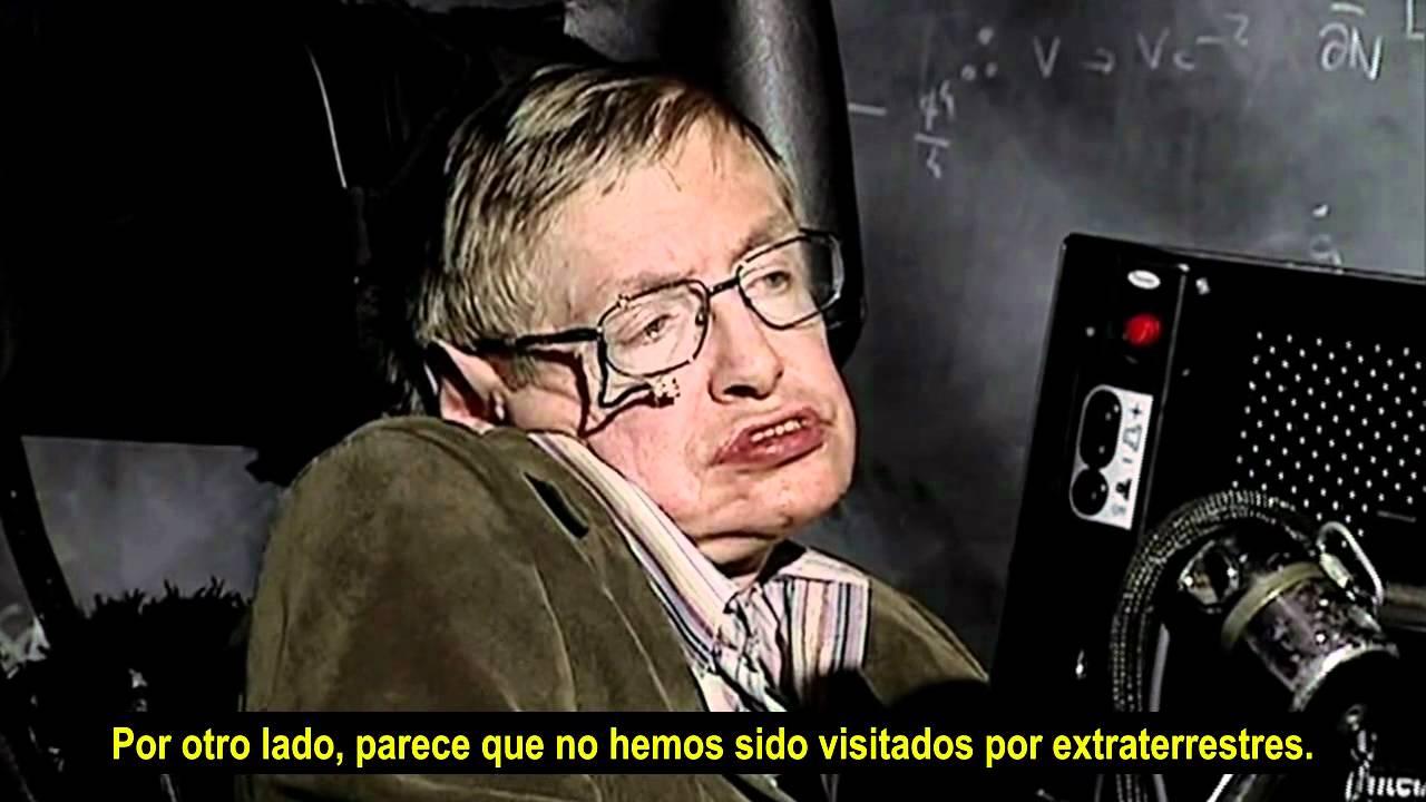 Stephen Hawking habla sobre el universo y ciertas