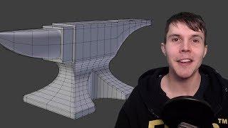 Blender Intermediate Modelling Tutorial - Part 1