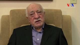 Fethullah Gülen: 'Suçlamalar İftira, Darbe İddialarını Uluslararası Komisyon Araştırsın'