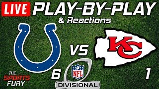 Colts VS Chiefs | Live Play-By-Play & Reactions