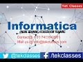 Informatica Complex Mapping Implementation   Informatica Interview Questions