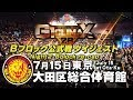 【G1CLIMAX28】7.15大田区総合体育館【Bブロックダイジェスト】