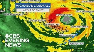 Tracking Hurricane Michael's path