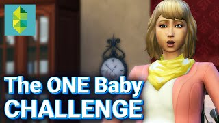 The ONE Baby Challenge! (Sims 4)