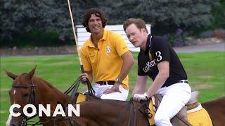 Conan Learns To Play Polo - CONAN on TBS