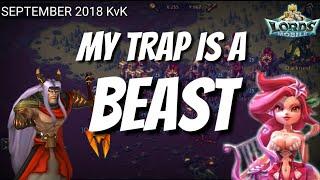 September KvK - Beast Trap - Lords Mobile