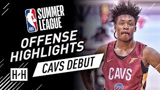 Collin Sexton YOUNG BULL Full Offense Highlights at 2018 NBA Summer League - Cavaliers Debut!