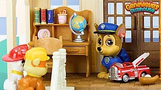 Paw Patrol get a New House Toy Learning for Kids!