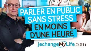 Parler en public sans stress en moins d'une heure (coaching) par Dominique LOPIN