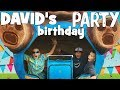 David's BEST EVER Super Fun Family Birthday Party With Fast Rides & Giant Slide