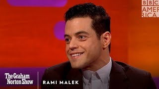 Rami Malek was a bad, bad boy   The Graham Norton Show   BBC America