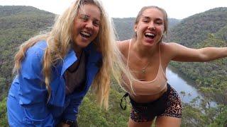 Hidden Gem in Sydney: Hiking in Berowra National Park + Swimming in Waterfalls!