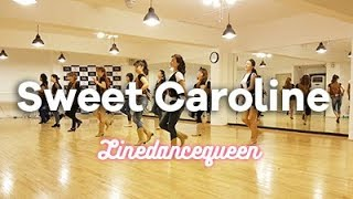 Sweet Caroline Line Dance (Darren Bailey ) Phrased Improver Demo