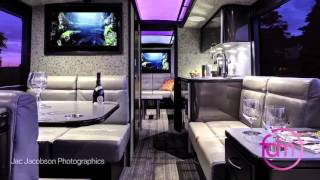 FDM Designs Specialty Projects - Private Coach Bus Testimonial