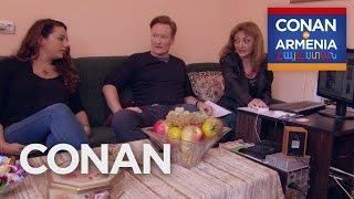 Conan & Sona Visit An Armenian Matchmaker - CONAN on TBS