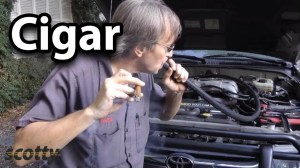 Finding Engine Vacuum Leaks With A Cigar  YouTube