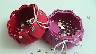Hediyelik Eşya Kutusu Yapımı (Kase)  Hediye Kutusu Nasıl Yapılır (Gift Box)