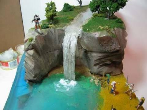 Make A Diorama Waterfall  YouTube