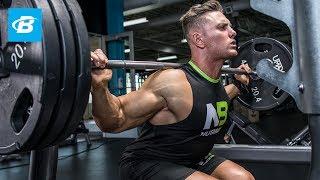 Total Leg Burnout Workout   Anthony Lavigne - WNBF Natural Pro Bodybuilder