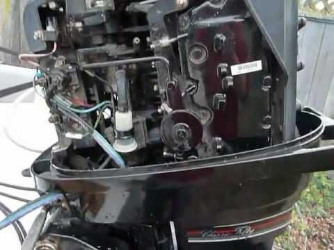 75 Hp Johnson Ignition Wiring Mercury 1989 Classic 50 45 Hp Youtube