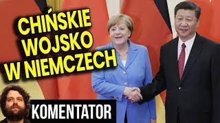 Chińskie Wojsko w Niemczech - To Wstęp do Współpracy dla Pieniędzy - Analiza Komentator Polityka PL