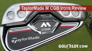 TaylorMade M CGB Irons Review By Golfalot