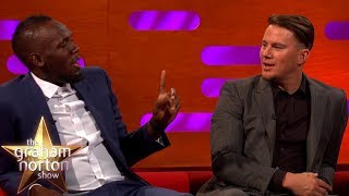 Usain Bolt Lost To Kevin Hart In A Race! | The Graham Norton Show