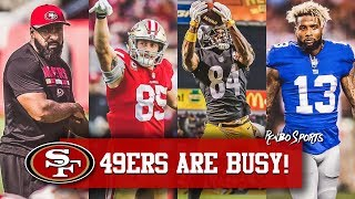 Live! 49ers Coach Ray Wright Fired, George Kittle 2nd Team All Pro & Free Agency Talk