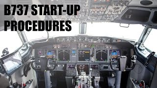 X Plane 11 Default 737 Start-Up Procedures! (Checklist included!)