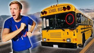 FOUND ABANDONED SCHOOL BUS (Exploring Hacker Evidence & Hidden Treasure Mystery Clues)