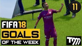 Fifa 18 - TOP 10 GOALS OF THE WEEK #11