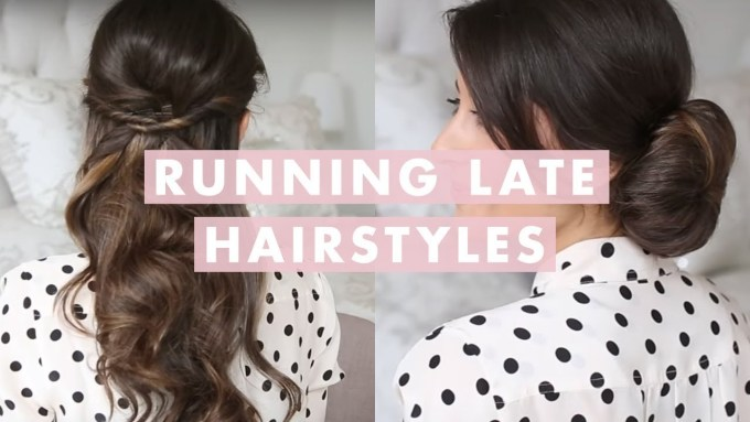 easy hairstyles for thin hair youtube | haircuts