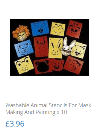 Washable Animal Stencils