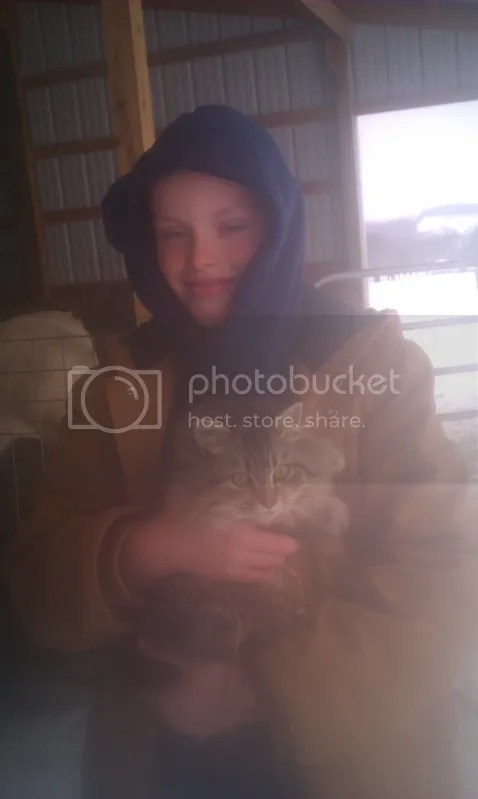 Mikewith Fluffy, Jan 2012