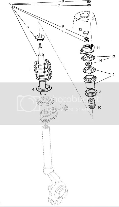 diagram of how to put suspention leg back together