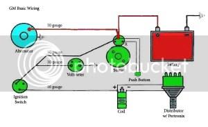 Chevy Alternator Wiring Diagram | The HAMB