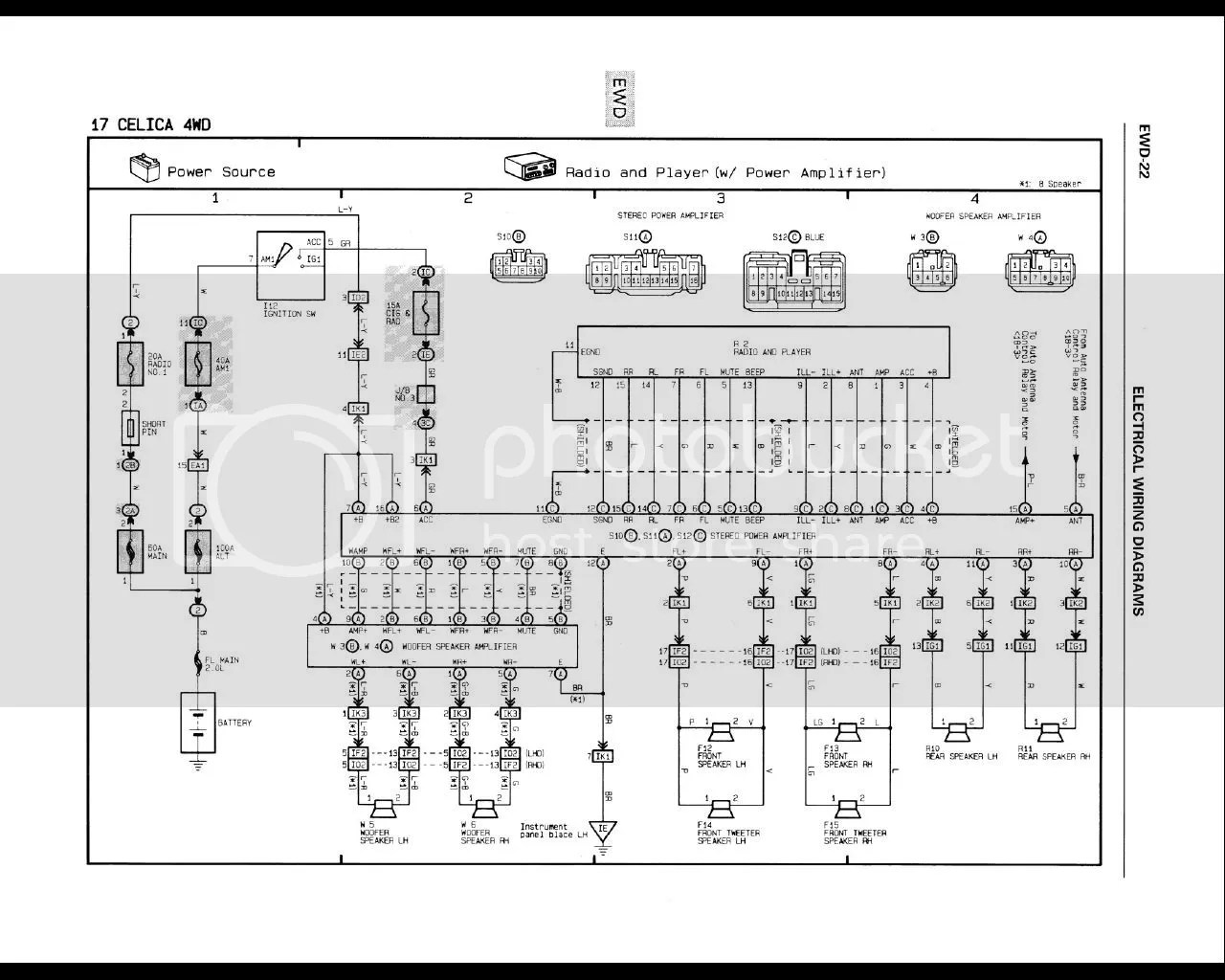 hight resolution of 8 speaker wiring diagram