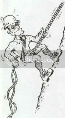 History of rappelling. :: SuperTopo Rock Climbing