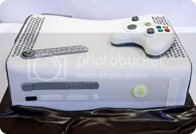 Video Game System 360 Grooms Cake