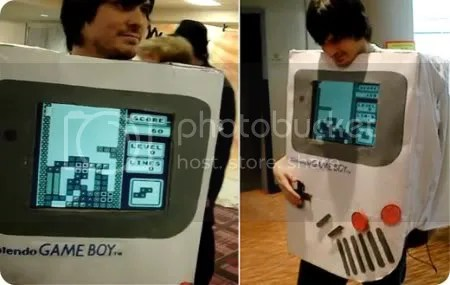 nintendo gameboy costume