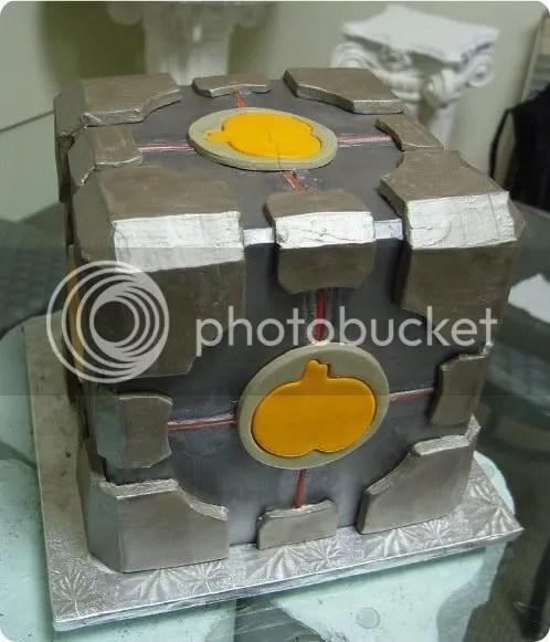 compumpkin cube cake