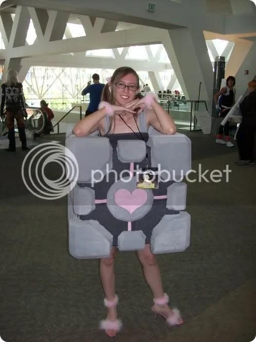 companion cube costume