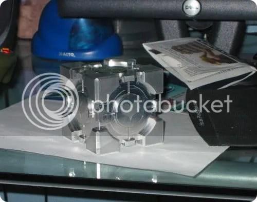 solid aluminum companion cube
