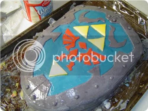 zelda cake