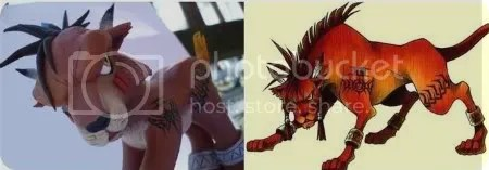 red xiii my little pony