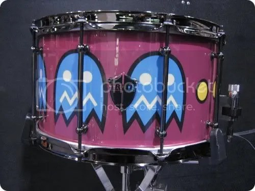 pac-man snare drum