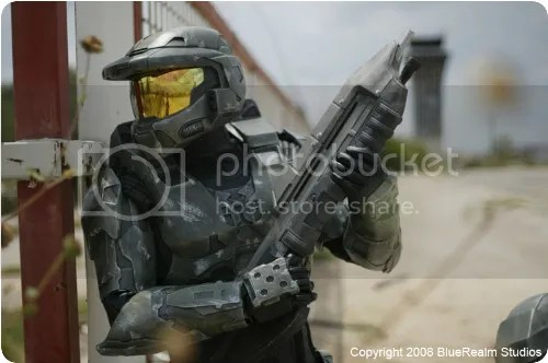 Master Chief cosplay