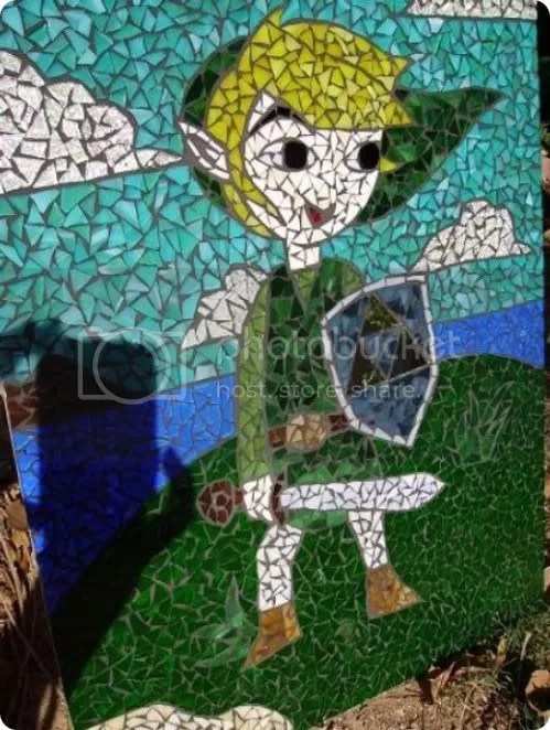 link stained glass
