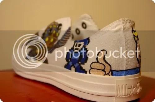 mega man shoe