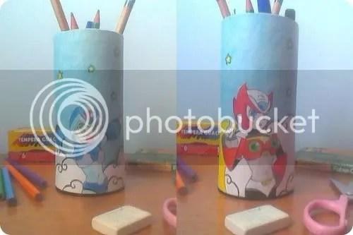 mega man pencil box